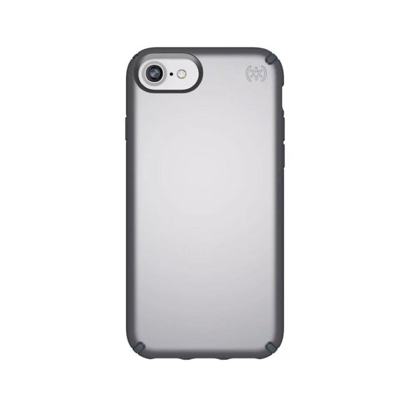 Speck (Apple Exclusive) Presidio Metallic Case for iPhone 6/6s/7/8 Tungsten Gray Metallic/Stormy - Gray
