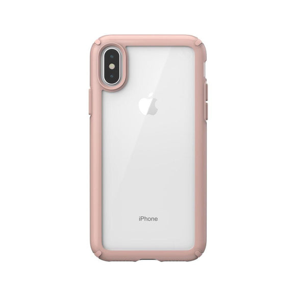 Speck (Apple Exclusive) Presidio Show Case for iPhone X Clear - Rose Gold