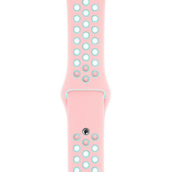 iStore Sport Band for Apple Watch Dual Light Pink/Aqua 38/40mm - Pink