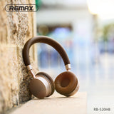 Remax Wearing Bluetooth Headset RB-520HB - Gray