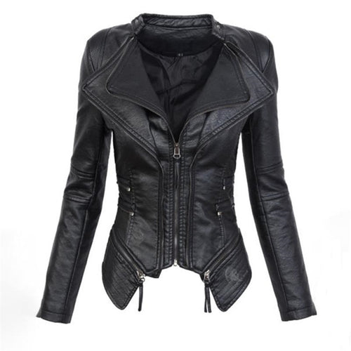 Gothic Pu Leather Jacket