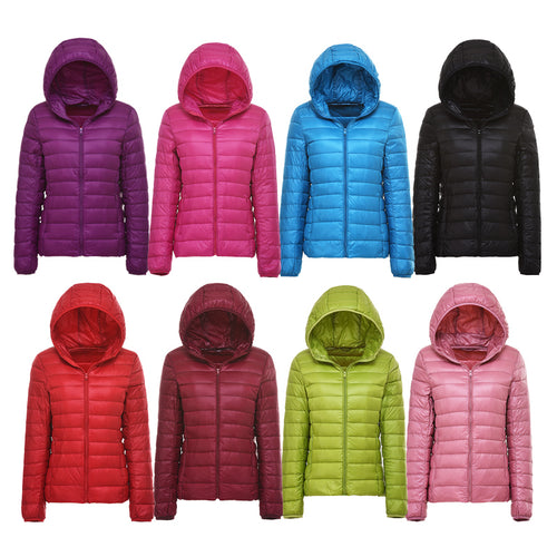 Ultra-light In Plus Size Also  Thin Down Jacket