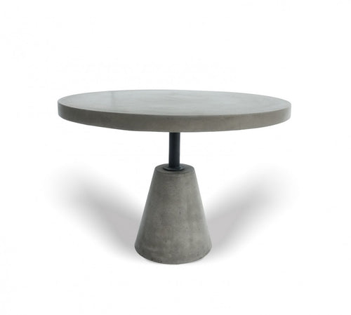 Modrest Lenado - Modern Grey Concrete End Table