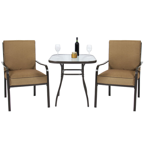 3pc Outdoor Patio Bistro Set