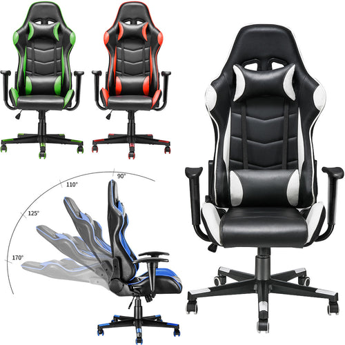 Gaming Chair Ergonomic High-Back Faux Leather