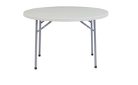 "48"" Heavy Duty Round Folding Table"