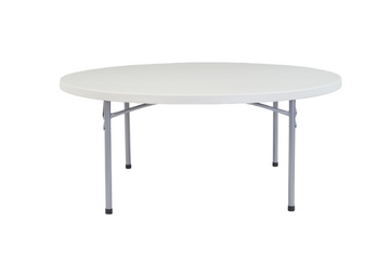 "71"" Heavy Duty Round Folding Table"