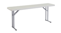 18 x 72 Heavy Duty Seminar Folding Table