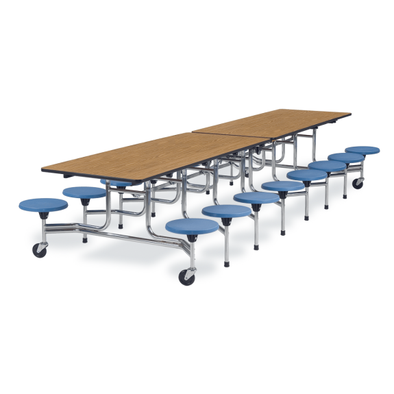 MTS Series Mobile Stool Table