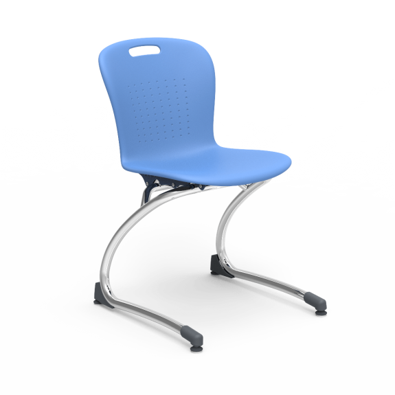 Sage Series Non-Stacking Cantilever Chair