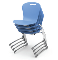 Zuma Series Stacking Cantilever Chair
