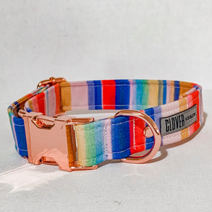 'Candy Stripes' Dog Collar