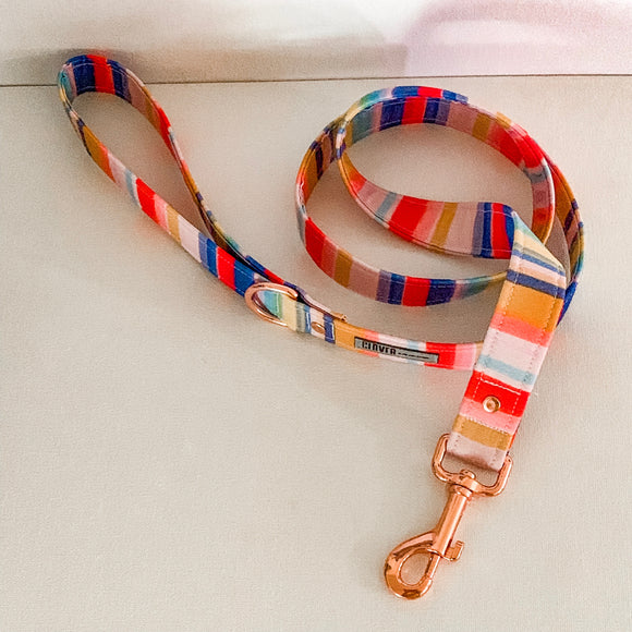'Candy Stripes' Dog Lead