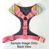 'Pink Leopard Spots' Chest Harness