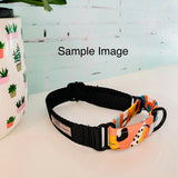 Choose Your Own Adventure- MARTINGALE COLLAR- 'Pink Leopard Spots'