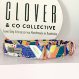'Deep Water' Martingale Dog Collar