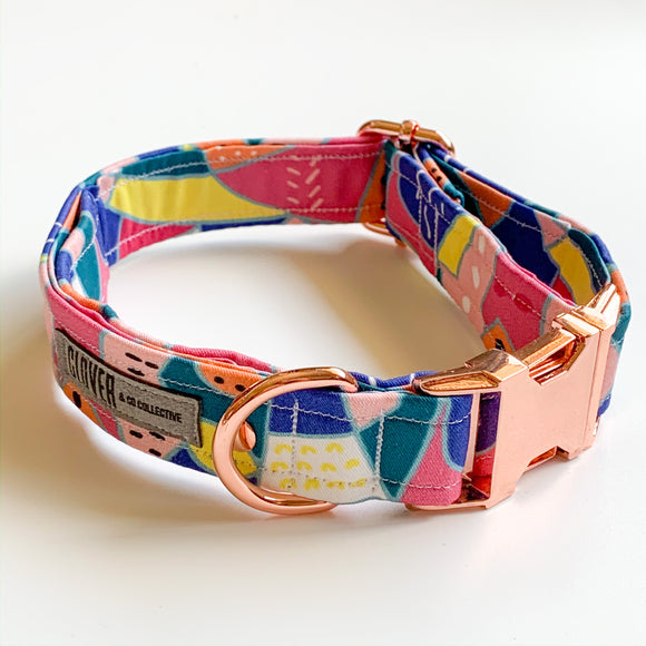 'Deep Water' Dog Collar