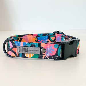 'How I Feel About Spring' Dog Collar