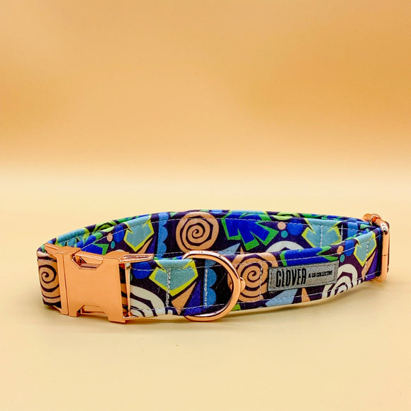 'Blue Juice' Dog Collar