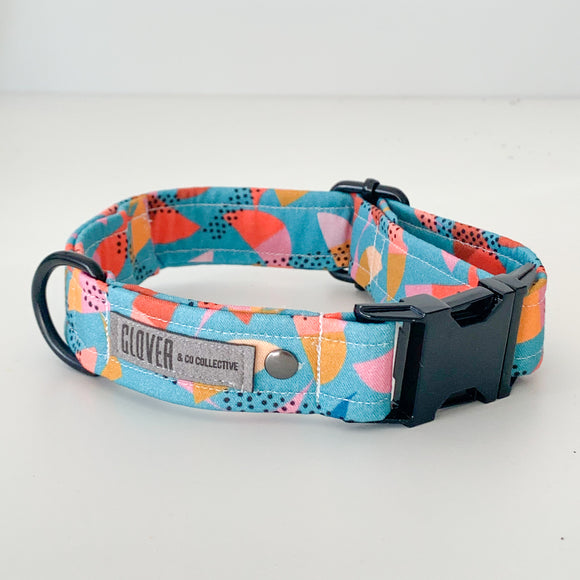 'Mint Umbrella' Dog Collar