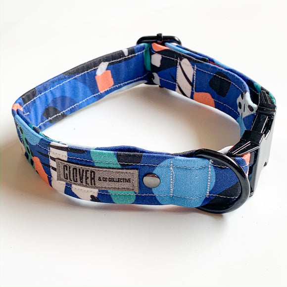 'Moving Tides' Dog Collar