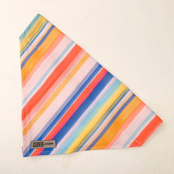 'Candy Stripes' Dog Bandana
