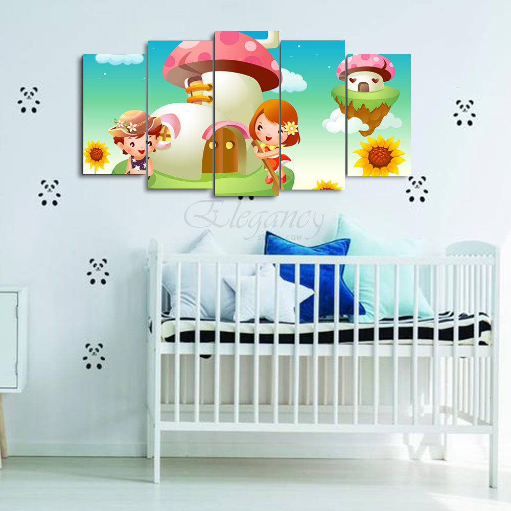 5 Splitters Kids wall frame (BHL_022)