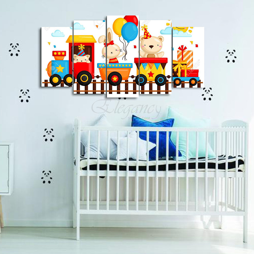 5 Splitters Kids wall frame (BHL_023)