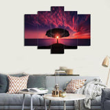5 PCS LANSCAPE 3D Wall Frame