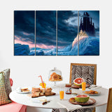 4 PCS Digital Wall Frame