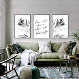 Inspiration Quotes Frame (3PCS)