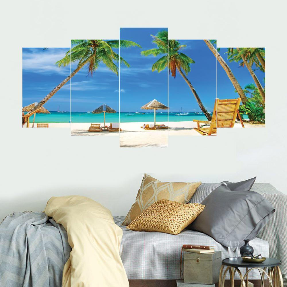 CLEARANCE SALE 5 Split 3D Wall Frame - Digitally Printed Landscape