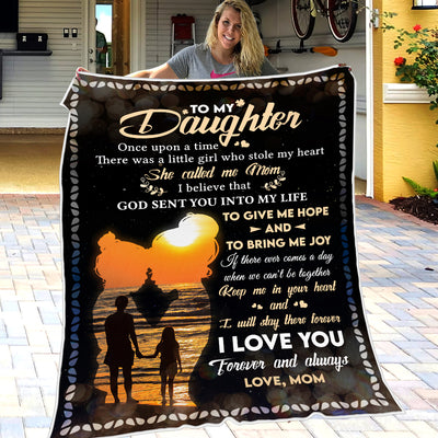 Mom To Daughter - Keep Me In Your Heart - Blanket