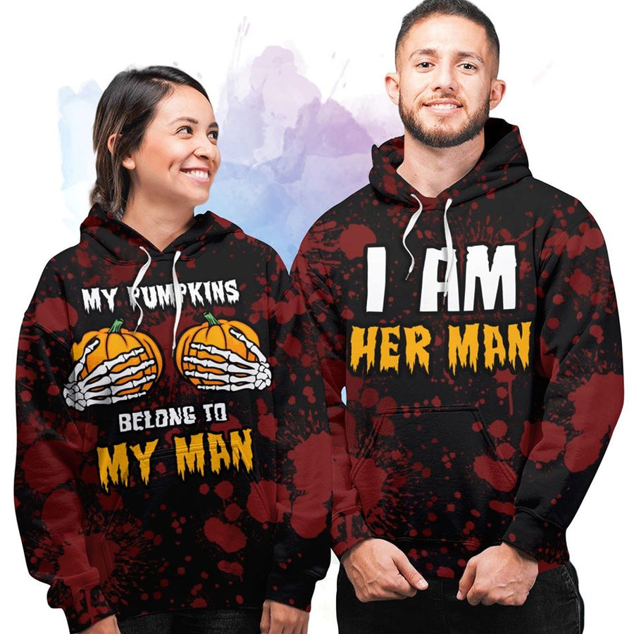 Belongs To My Man - Couple Hoodie