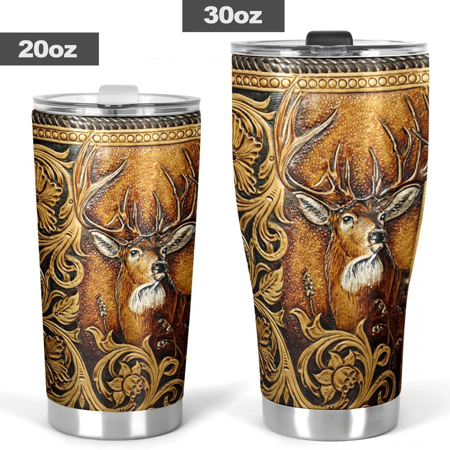 Deer Hunting Tumbler - Stainless Steel Tumbler - Gift for your beloved, Best Gift for Christmas