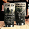 To My Son - Hunting Partners - Tumbler