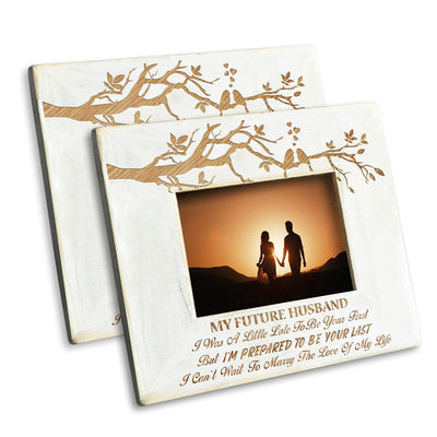 Wife to Husband - I Can't Wait To Marry The Love Of My Life - Photo Frame