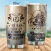 The Man The Myth The Fishing Legend Personalized Tumbler