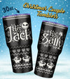 Jack & Sally  - Couple Tumbler