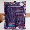Blanket For Granddaughter - I Pray That You Are Safe, Well And Happy - Blanket