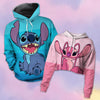 Stitch & Angel - Couple Hoodie