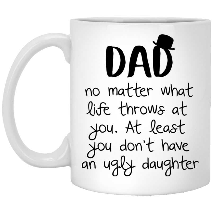 No Matter What Life Throws At You - FTD - 11 oz. White Mug