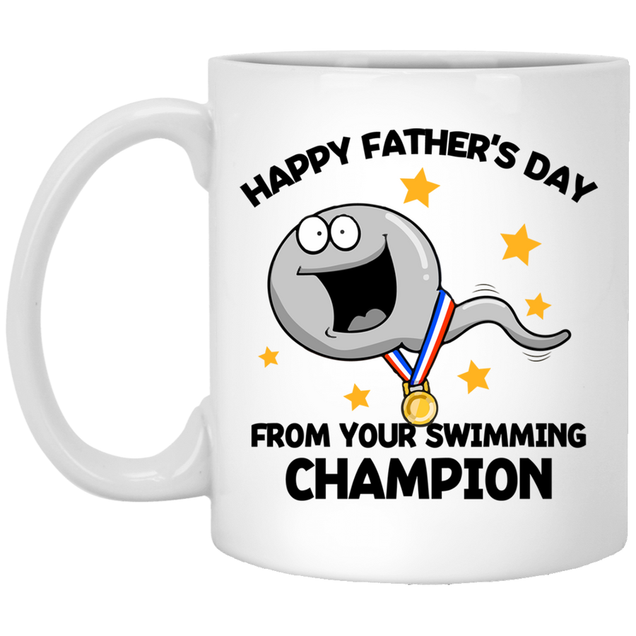 Your Swimming Champion - FTD - 11 oz. White Mug