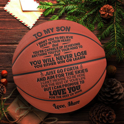 Mum to Son - You Will Never Lose - Basketball