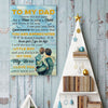 Son To Dad - You Will Always Be My Dad, My Hero - Vertical Matte Posters