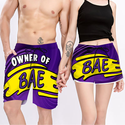 Couple Matching - Bae & Owner - Shorts
