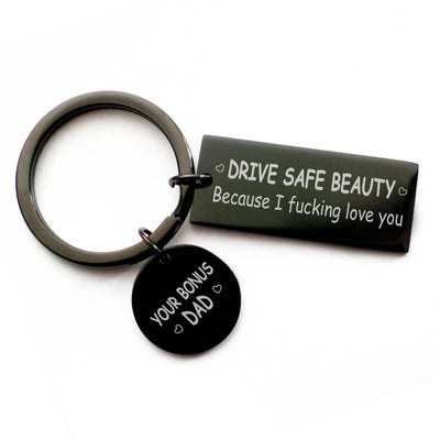 Drive Safe Beauty - Keychain