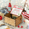 Santa's official nice list - Colorful Music Box