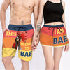 Couple Matching - This Belongs To My Bae And I Am Bae - Shorts