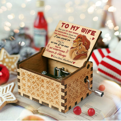 Husband To Wife - The One Person I Know I Can Count On - Colorful Music Box